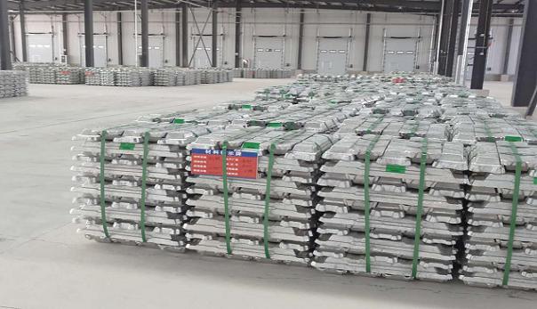 西北金属仓储物流园仓库一期库房正式进入试运营阶段