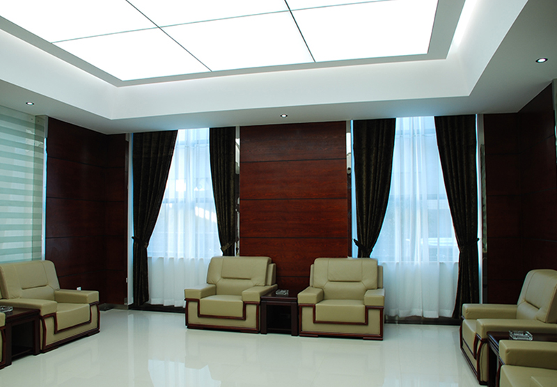 Customer reception room