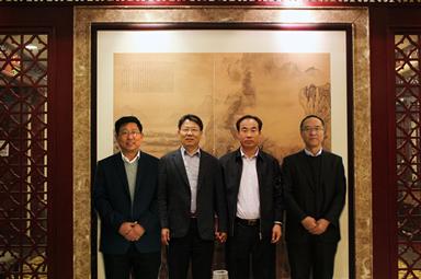 河北建投董事长赵会宁来奥福集团谋划发展