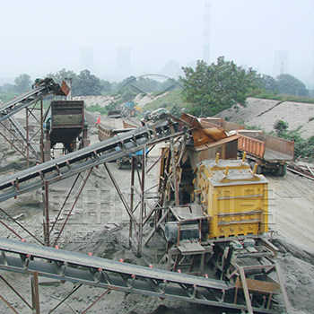 North Korea 120TPH Quartz Sand Grinding Line