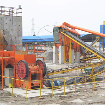 150 t/h bluestone crushing production line in Huanggang, Hubei province