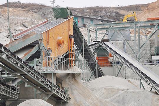 Egypt customer 150-450 TPH stone production line