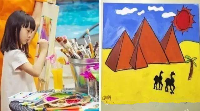 原来小孩的艺术感都是这样培养出来的…