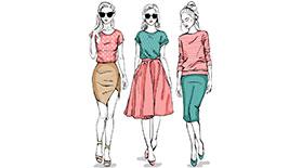 服装设计学员作品