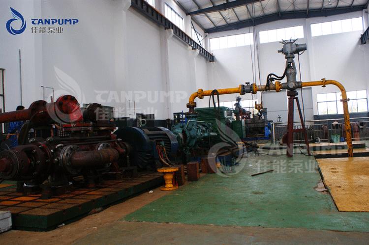 自平衡锅炉泵测试