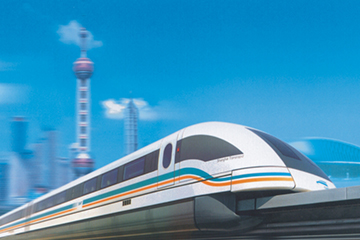 世界第一条磁浮商业运营线——上海磁浮线加工制造的轨道梁加工及功能件