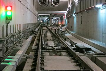 台湾地铁道岔