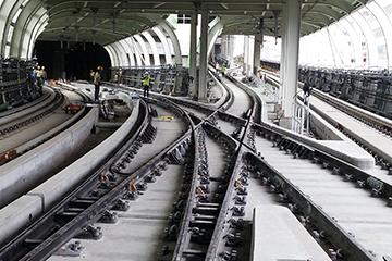 香港地铁道岔