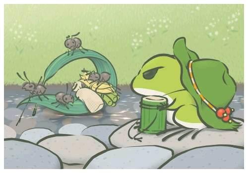 刷爆你社交圈的旅行青蛙,原来可以这样玩?
