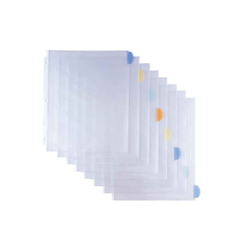 Sheet protector with tab divider