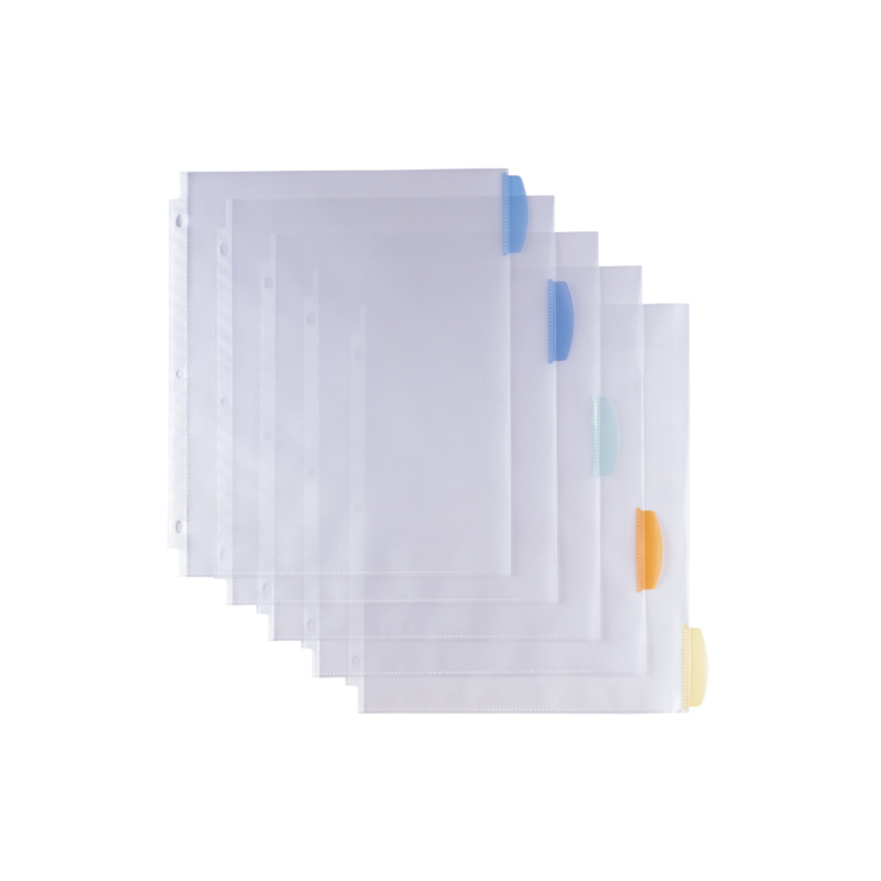 Sheet protector with tab divider