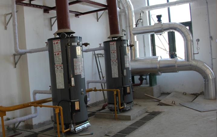 地铁九号线太阳能热水系统 