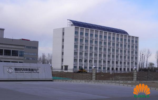 怀柔北汽福田太阳能热水系统