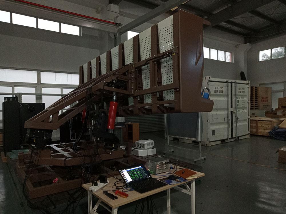 上海合昊机电飞行影院座椅支架优发国际顶级在线检测