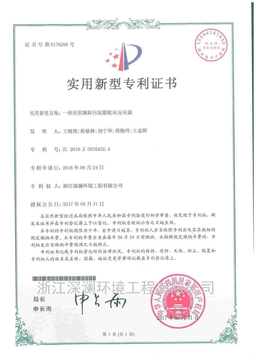 专利-厌氧颗粒