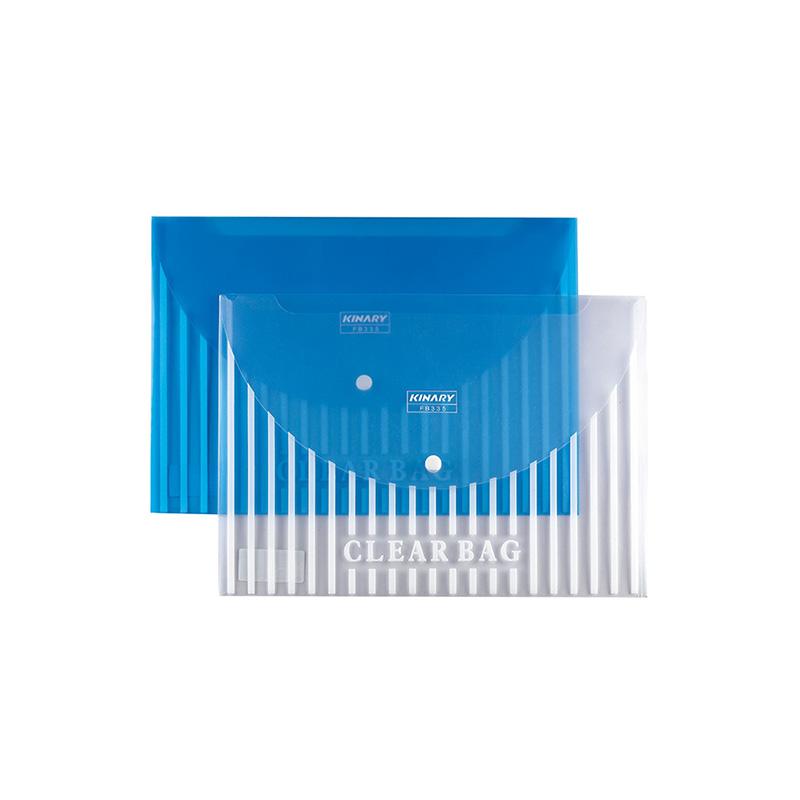 透明丝印文件袋
