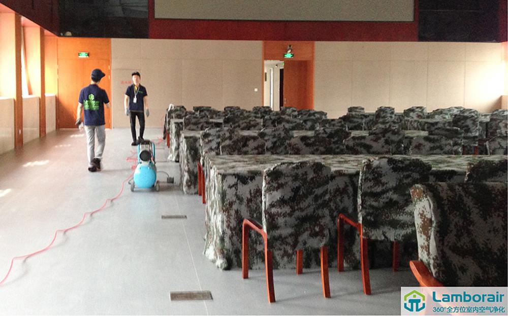 中国人民解放军浙江省军区除甲醛服务