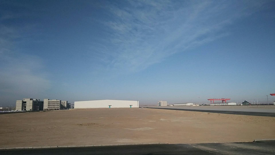 兰州乐虎国际娱乐app西北金属仓储物流园项目已做好全面复工准备