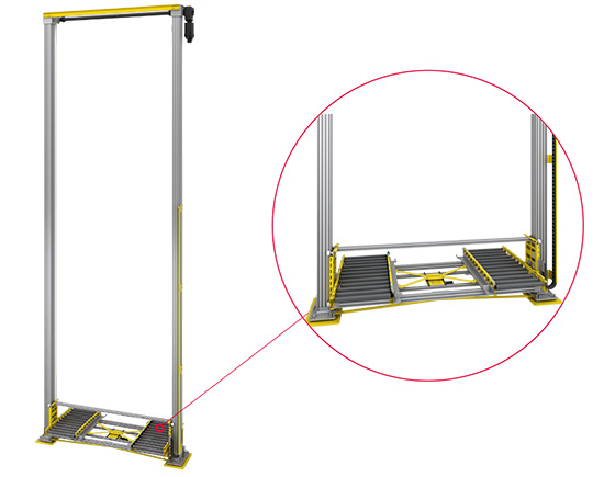 料箱垂直输送机