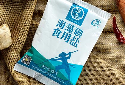 海藻碘食用盐(400克)