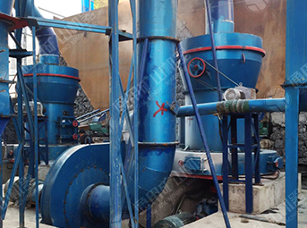 10 t/h limestone grinding powder production line in Nanchuan, Chongqing