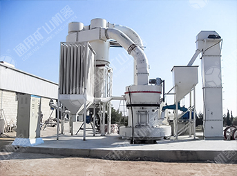 Daily yield of 200 tons gypsum grinding powder production line in Columbia