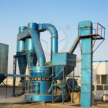 Gansu Zhangye 20 tons/day attapulgite clay ore powder grinding production line