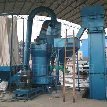 Daily yield of 20 tons attapulgite clay ore grinding powder production line in Zhangye, Gansu provin