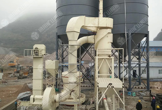 15 t/h quicklime grinding powder production line in Anshun, Guizhou province