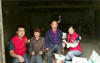 中国社会福利基金会助老公益 ▎关爱老人,走进镇坪桃元村