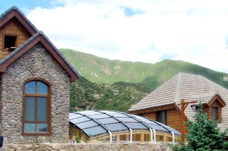 太阳能采暖及热水系统