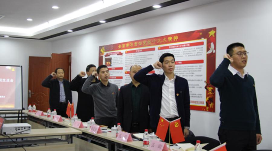 博阳新能党支部召开年度组织生活会 暨民主评议党员活动