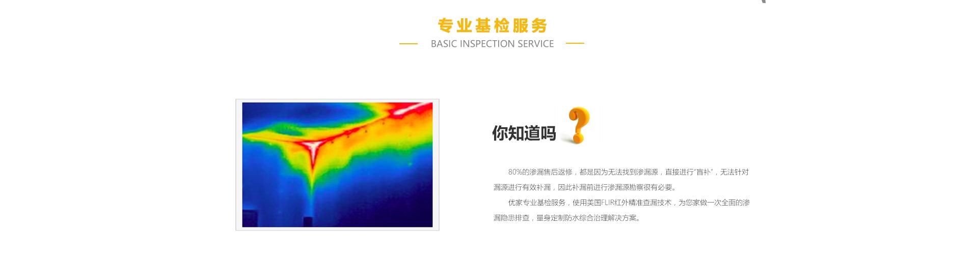 专业基检服务