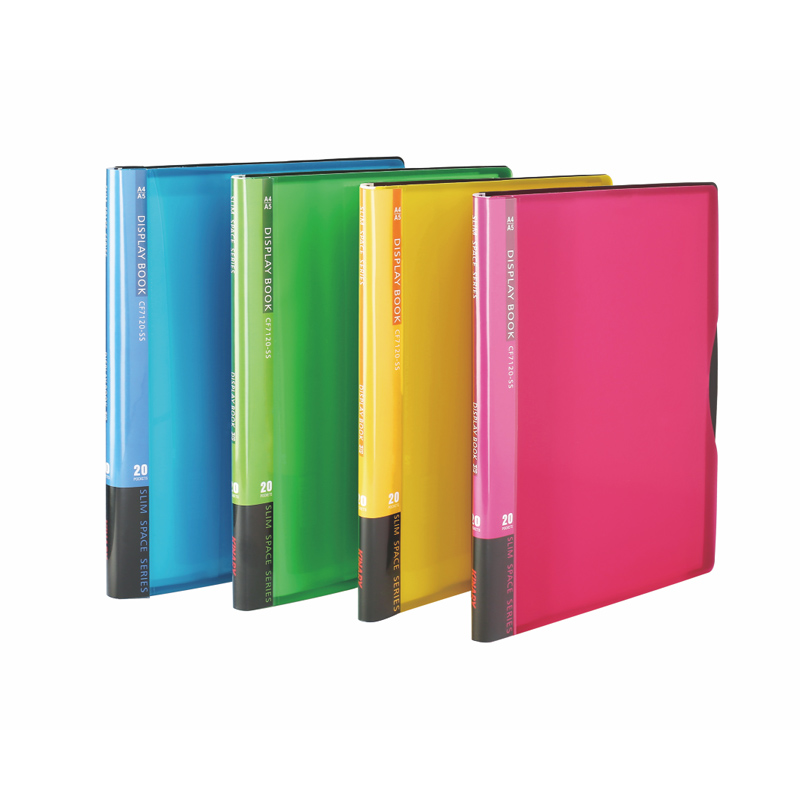A4\A5 20 PKETS DISPLAY BOOK