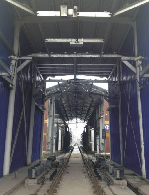 重庆1号线马家岩轮对及受电弓在线检测系统