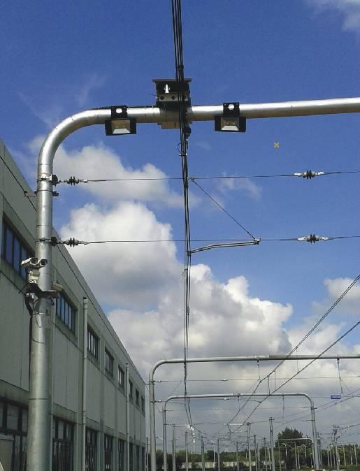 上海8号线受电弓在线检测系统