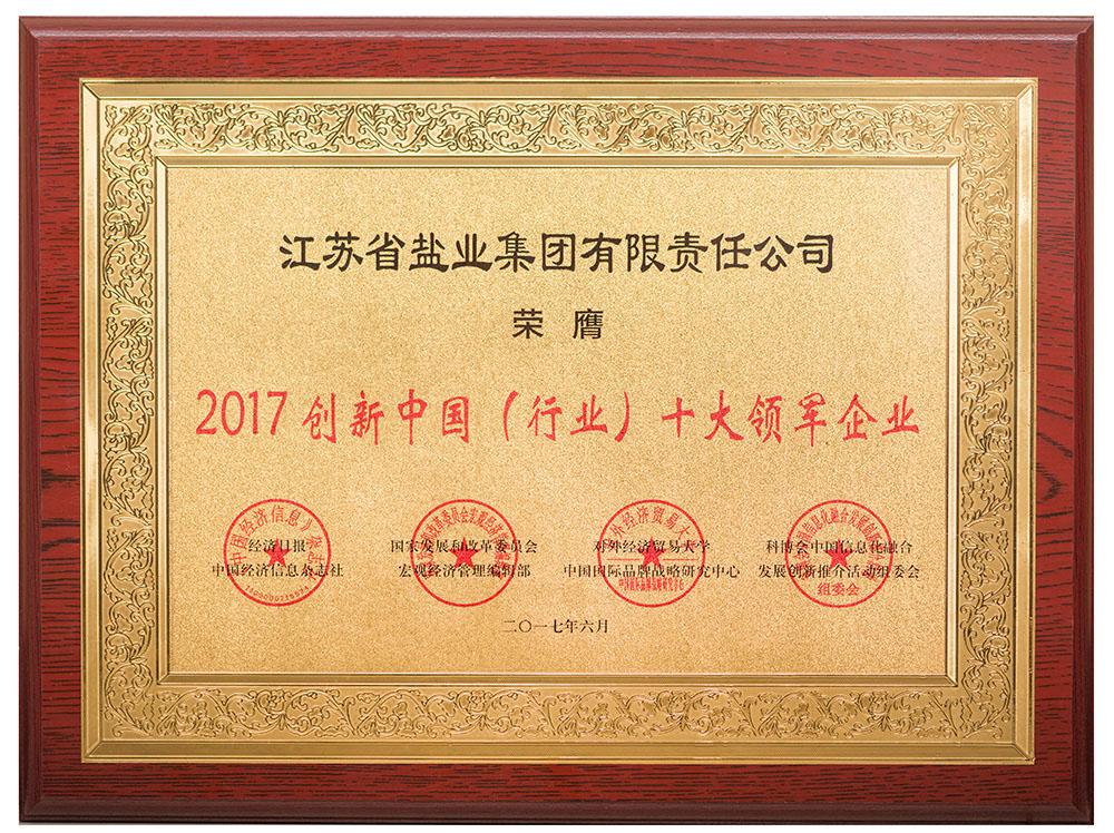 创新中国(行业)十大领军企业