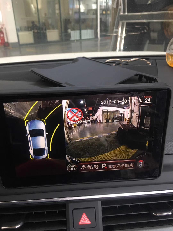 奥迪A4L安装车视野极致超清360°全景记录仪