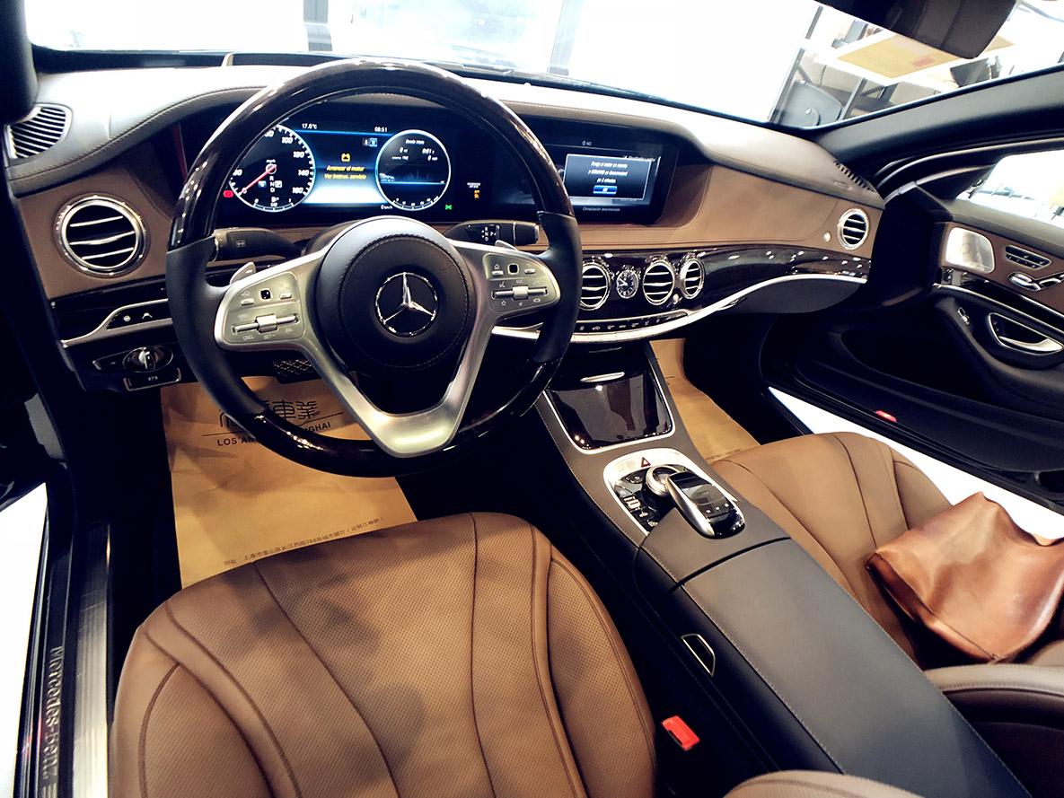 奔驰 • S400