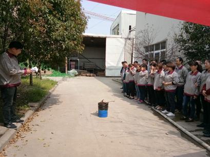 马克森季度消防安全演习活动