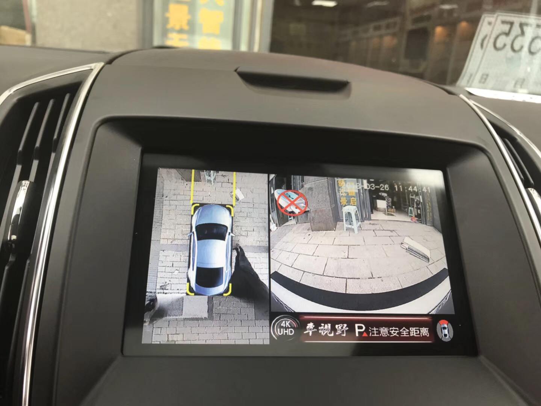 奔驰E300安装车视野360°全景行车记录仪