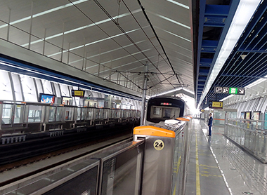 成都地铁二号线二期工程(东延线)机电安装工程
