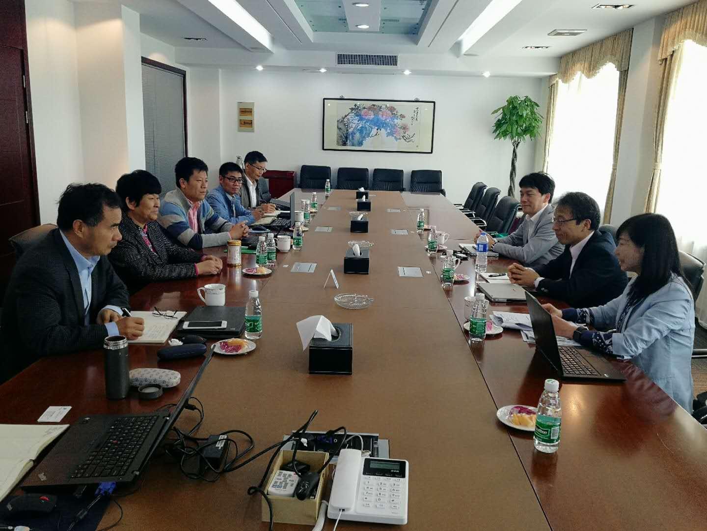 日本三井化学(MCAG)专家到访江阴苏利化学