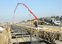西安大型养路机械运用检修段给排水工程
