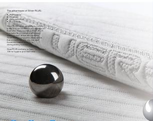 Silver+銀離子抗菌