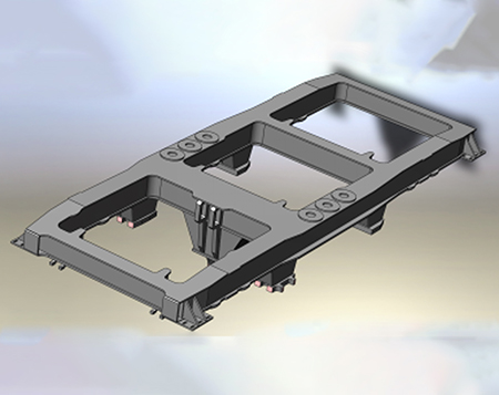 和谐机车部件检修-构架
