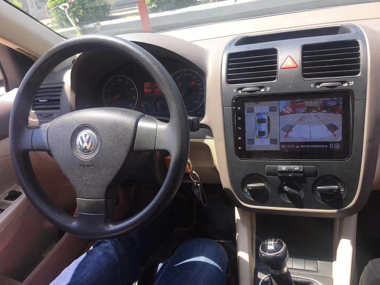 大众速腾安装车视野超清360°全景行车记录仪效果图