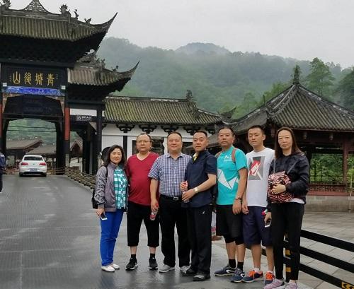 徒步征服青城后山