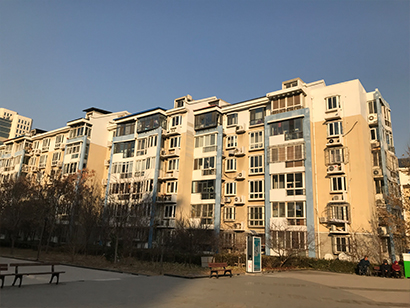 景观花园建工宿舍供热系统改造