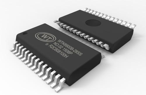 WTK6900B-28SS语音识别芯片
